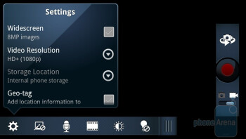 Camcorder - Motorola DROID 3 Review