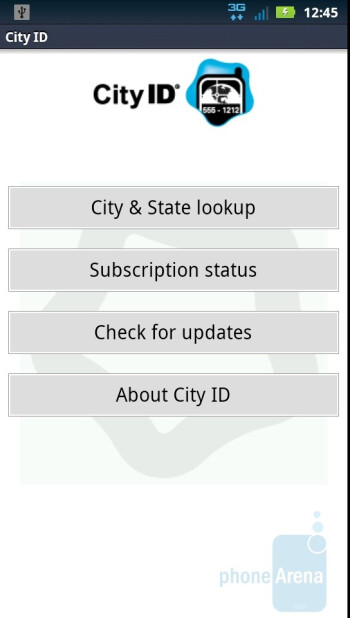 City ID - Third party apps - Motorola DROID 3 Review