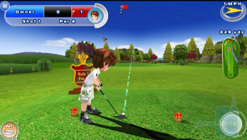 Lets Golf 2 - Third party apps - Motorola DROID 3 Review