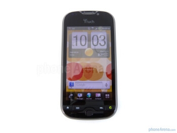 "The T-Mobile myTouch 4G Slide has a large 3.7"" WVGA Super LCD display - T-Mobile myTouch 4G Slide Review"