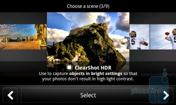 Camera interface - Camcorder - T-Mobile myTouch 4G Slide Review