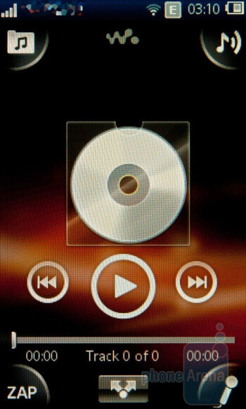 The music player - Sony Ericsson Mix Walkman Preview