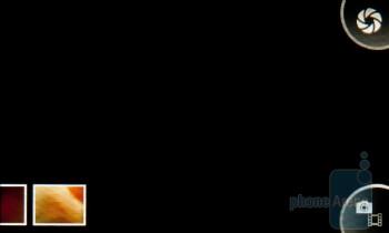 Camera interface - Sony Ericsson Mix Walkman Preview