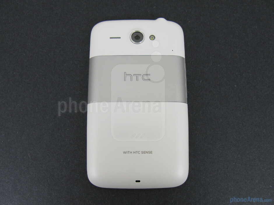 The HTC Status fits comfortably in the hand - HTC Status Review