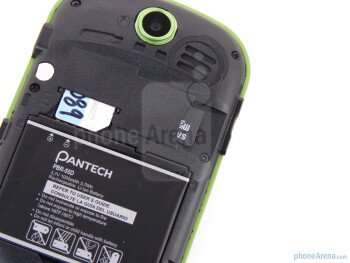 Back - Pantech Pursuit II Review