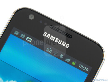 The Samsung Galaxy R boasts a 4.2-inch Super Clear LCD screen - Samsung Galaxy R Preview