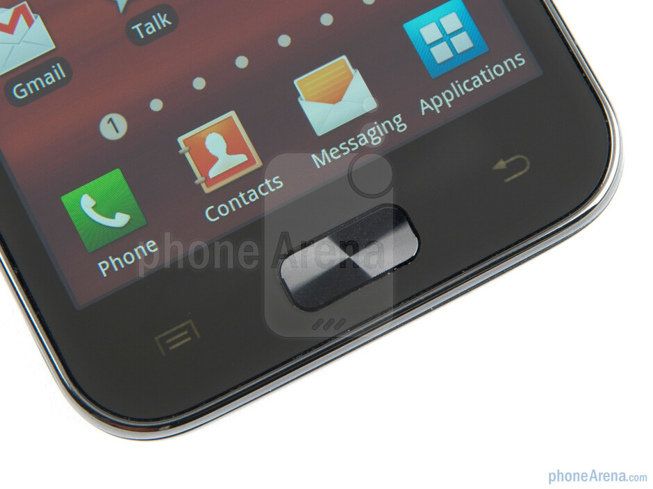 The Samsung Galaxy R boasts a 4.2-inch Super Clear LCD screen - Samsung Galaxy R Preview