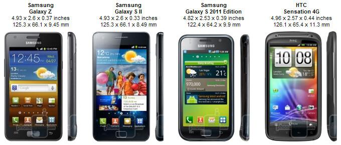 Samsung Galaxy R Preview