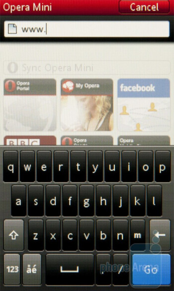 Opera Mini - Sony Ericsson txt pro Review
