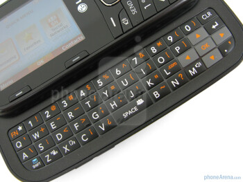 The LG Cosmos 2 has a full QWERTY keyboard - LG Cosmos 2 Review