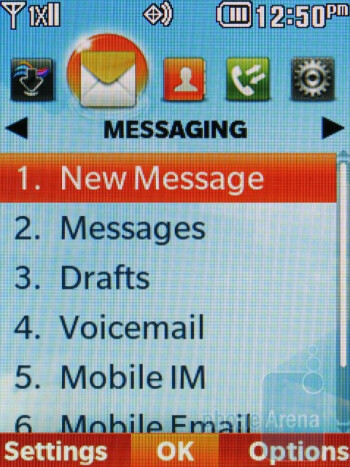 Messaging - LG Cosmos 2 Review