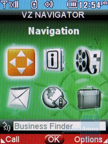 VZ Navigator - LG Cosmos 2 Review