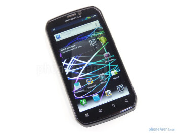The Motorola Photon 4G packs a qHD display - Motorola PHOTON 4G Review