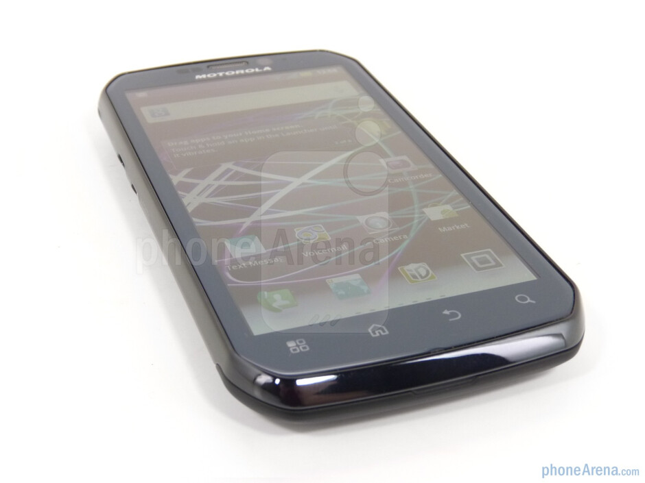 The Motorola Photon 4G packs a qHD display - Motorola PHOTON 4G Review