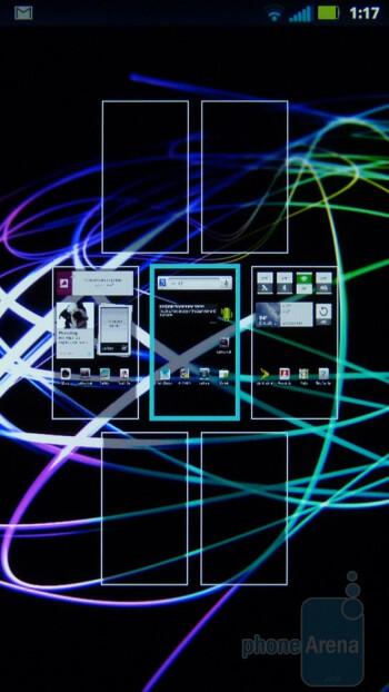 The interface of the Motorola Photon 4G - Motorola PHOTON 4G Review