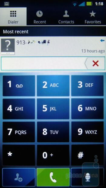 Dialer - Motorola PHOTON 4G Review