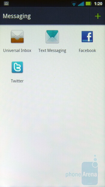 Messaging - Motorola PHOTON 4G Review