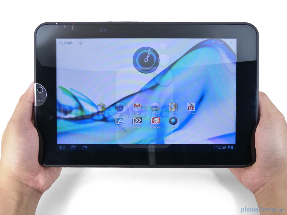 The Toshiba Thrive is hands-down the bulkiest Honeycomb tablet we've scoped to date - Toshiba Thrive Review