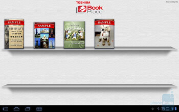 Toshiba's own branded apps - Toshiba Thrive Review