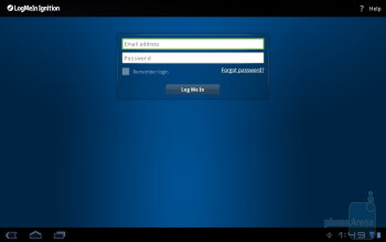 LogMeIn - Third party apps - Toshiba Thrive Review