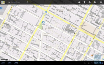 Google Maps - Toshiba Thrive Review
