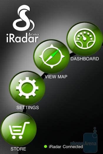 Dashboard mode - Cobra iRadar Review