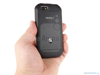The Motorola TITANIUM fits comfortably in the hand  - Motorola TITANIUM Review