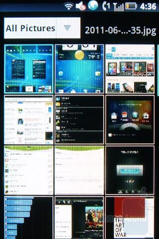 Gallery - Multimedia capabilities of the Motorola TITANIUM - Motorola TITANIUM Review