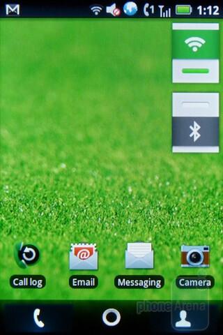 The Motorola TITANIUM runs Android 2.1 Éclair - Motorola TITANIUM Review
