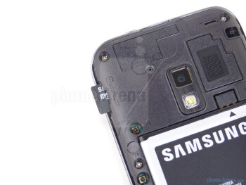Back - Samsung Conquer 4G Review