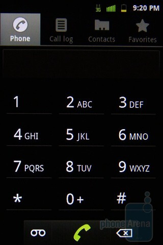Dialer - Samsung Conquer 4G Review