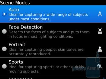 Camera interface - RIM BlackBerry Bold 9930 Review