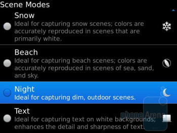 Camera interface - RIM BlackBerry Bold 9930 Review