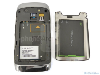 Back - RIM BlackBerry Torch 9850 Review