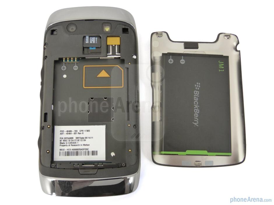 Back - RIM BlackBerry Torch 9850 Review