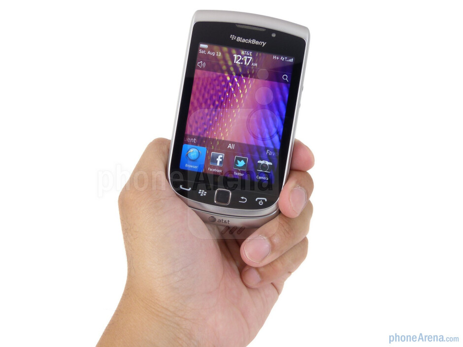 Not hiding it at the very bit, the BlackBerry Torch 9810 recycles the design of its predecessor - RIM BlackBerry Torch 9810 Review