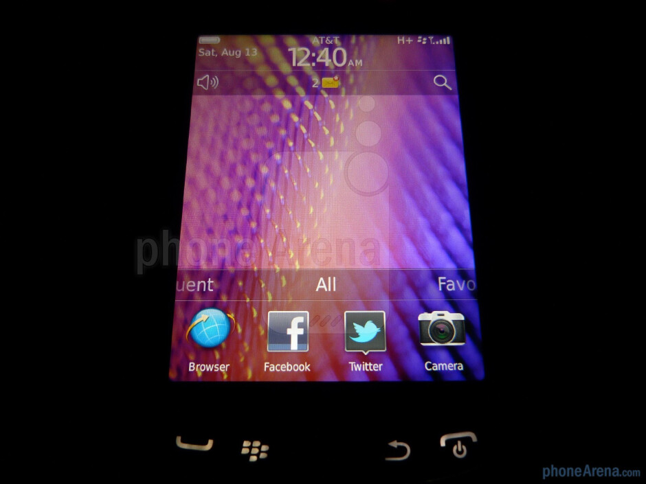 RIM BlackBerry Torch 9810 Review