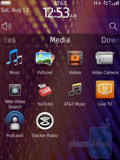 RIM BlackBerry Torch 9810 runs BlackBerry OS 7 - RIM BlackBerry Torch 9810 Review
