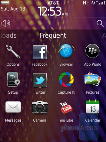 RIM BlackBerry Torch 9810 runs BlackBerry OS 7 - RIM BlackBerry Torch 9810 Review