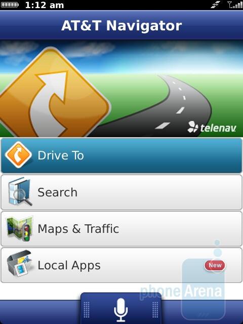 Preinstalled apps - RIM BlackBerry Torch 9810 Review