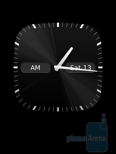 The Clock app - RIM BlackBerry Torch 9810 Review