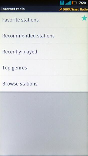 The music player of the Motorola Photon 4G - Motorola Photon 4G vs. HTC EVO 3D