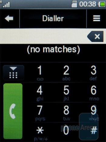 The phonebook of the Motorola WILDER - Motorola WILDER Review