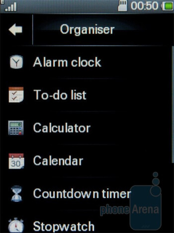 Organizer apps - Motorola WILDER Review