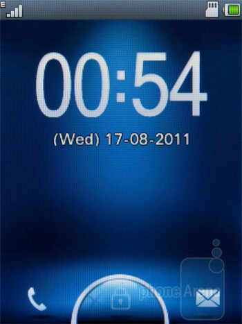 Lock screen - Motorola WILDER Review