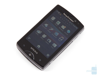 The front of the Sony Ericsson Xperia mini pro - Sony Ericsson Xperia mini pro Review