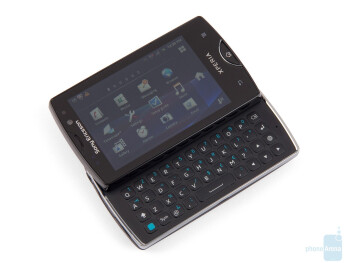 The sliding mechanism of the Sony Ericsson Xperia mini pro is executed perfectly - Sony Ericsson Xperia mini pro Review