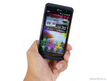 The LG Thrill 4G is one solidly constructed handset - LG Thrill 4G Review