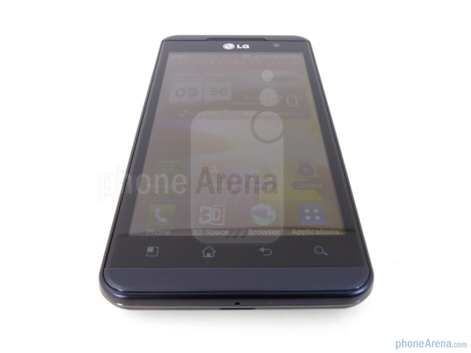 Viewing angles - LG Thrill 4G Review