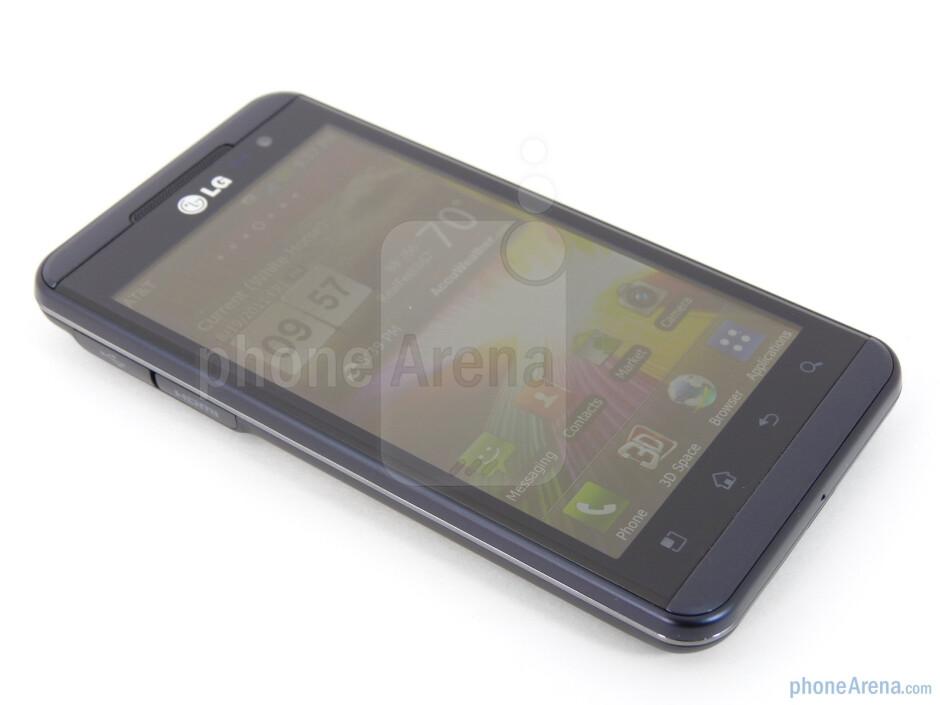 "The LG Thrill 4G boasts a plentiful 4.3"" LCD display - LG Thrill 4G Review"
